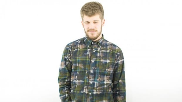Long Sleeve Camouflage Print Shirt