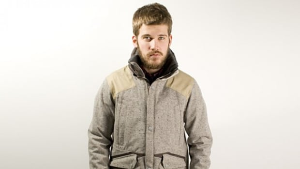 Gore Tex Nep Tweed 3L Mixed Jacket