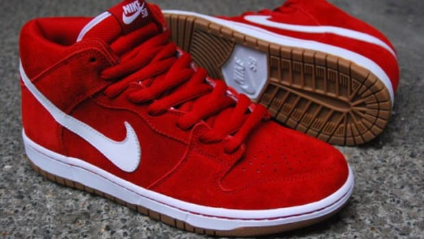 Dunk SB Mid - Red - White - Gum