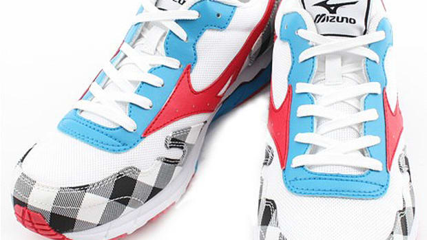 SHIPS JET BLUE x MIZUNO CREATION Starstream White - 01