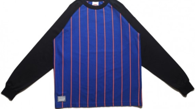 MASTERPIECE - Stripe Raglan T-Shirt - 03