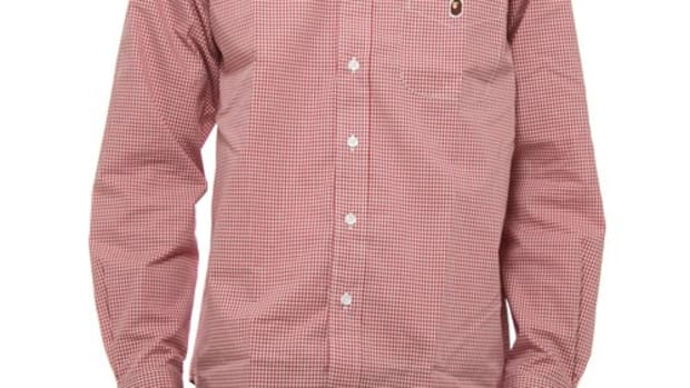 gingham-button-down-shirt-red