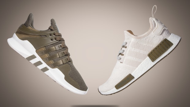 watch 09db8 90a41 adidas Is Dropping Chalk  Olive Colorways of the NMD R1  EQT Support ADV  Only at Champs