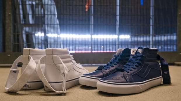 64c2c61d6d The Vans DQM General Pays Homage to the New York Yankees With the Sk8-Hi  Reissue LX
