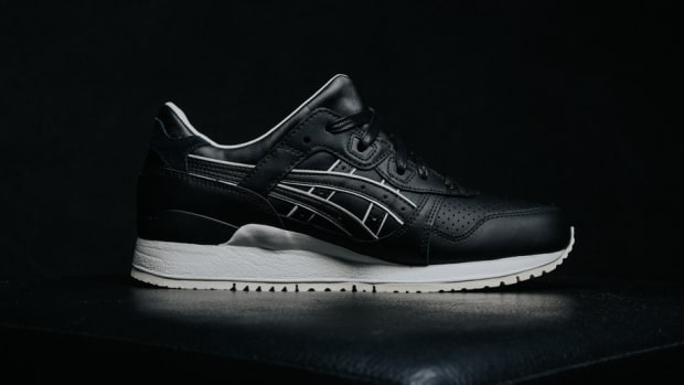 9b6a480fb498 clearance the asics gel lyte iii gets dressed up in a tuxedo colorway 9aa83  1f1a0