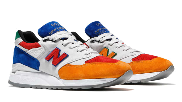 a13a9583bc5 The Bodega x New Balance 998 Pays Tribute to Boston's Mass Transit System