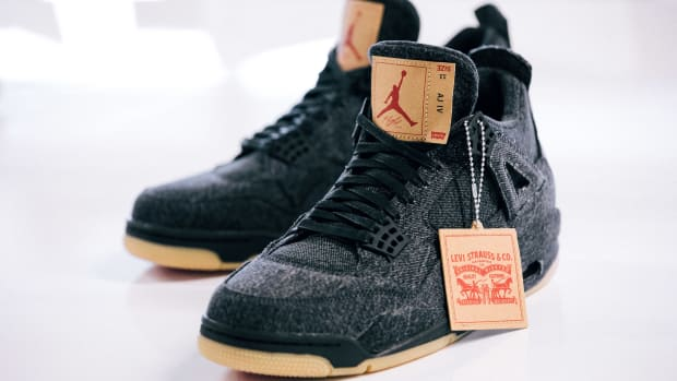 909d583fd45 Jordan Brand Announces Release Details for White and Black Levi's x Air  Jordan 4