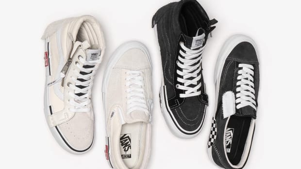 6fc3349790 Vans Vault Debuts Deconstructed Editions of the Sk8-Hi and Slip-On