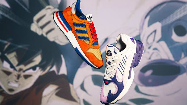 e46f00466 The First Sneakers From adidas  Dragon Ball Z Collection Are Dropping This  Month