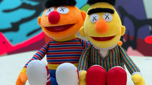 kaws-bert-and-ernie-plush-toys