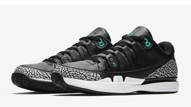 12e46d5a88eed0 The Nike Zoom Vapor Tour AJ3 Arrives Next Month in a Clear Jade Colorway