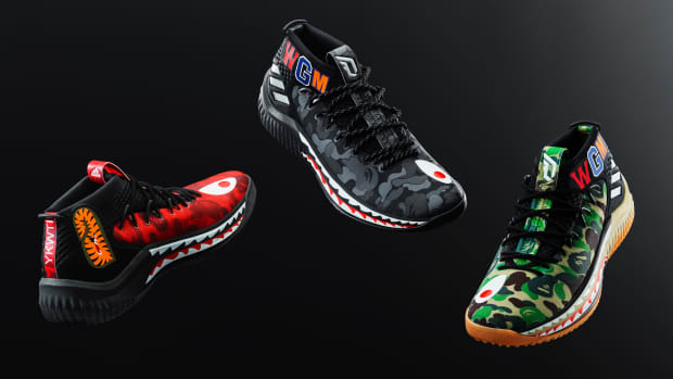 6ea9700ed92 The BAPE x adidas Dame 4 Is Dropping in Three Colorways During All-Star  Weekend