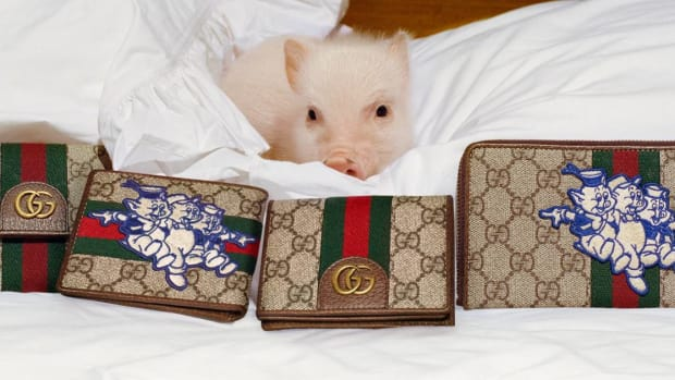 c38acae4a974e4 Gucci s Chinese New Year Collection Features Disney s Three Little Pigs