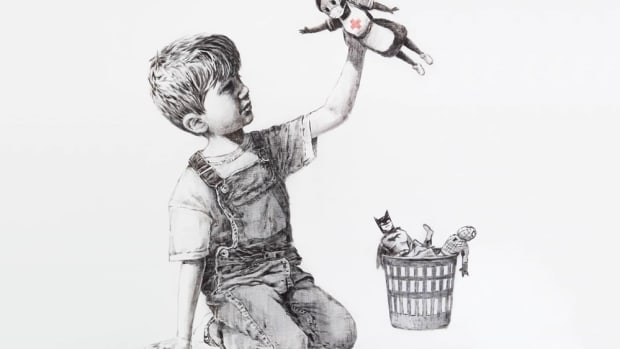 banksy-game-changer-painting-covid-19