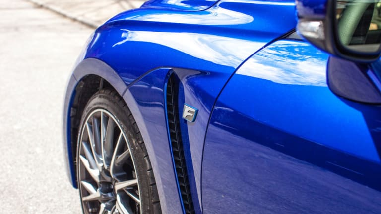 The Stylish 2015 Lexus RC F Is Built to Exceed Expectations