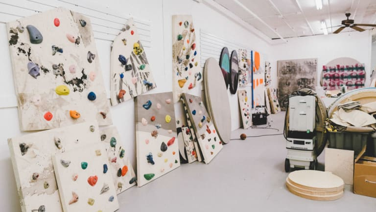 An Inside Look at Eric Elms' Studio