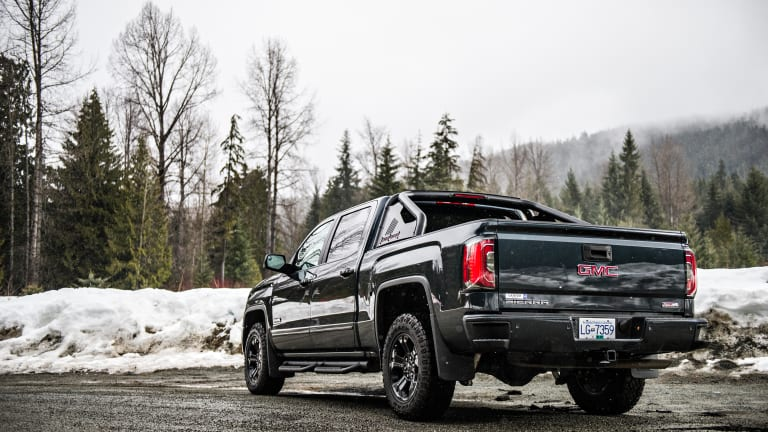 The 2017 GMC Sierra All Terrain X Pushes the Limits on the Trails