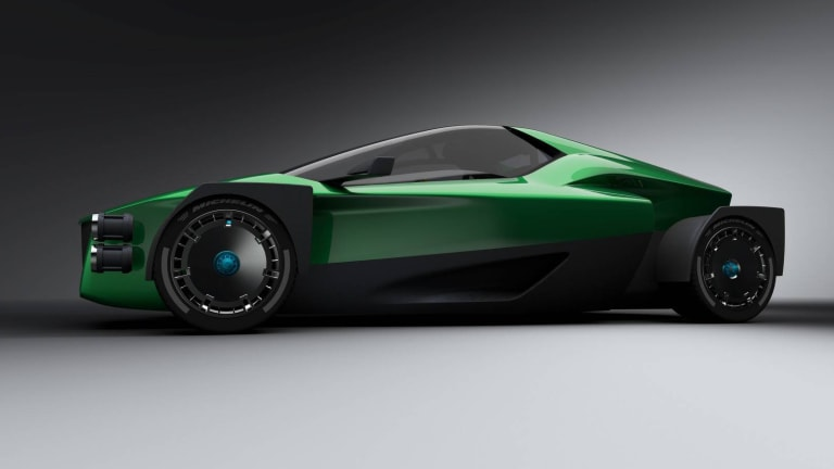XING Mobility Previews a 1,341-HP Electric Supercar