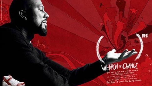 Common as the Face of Converse (PRODUCT)RED - 0