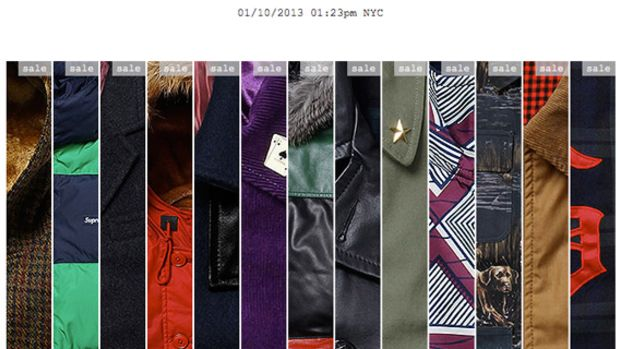 Supreme - Fall/Winter 2012 Collection | Sale Event - 1