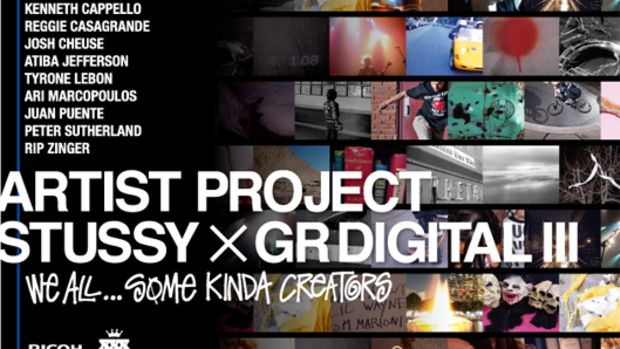 Stussy x GR Digital III Artist Project