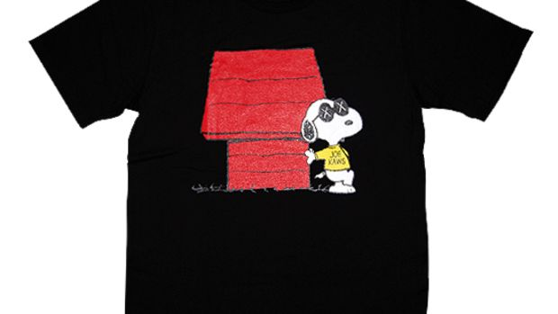 Peanuts x OriginalFake T-Shirt Black