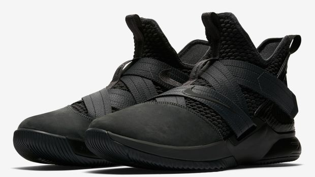 detailed look 37c50 9e915 ... order the nike lebron soldier 12 is dropping in a stealthy zero dark  thirty colorway c64c7