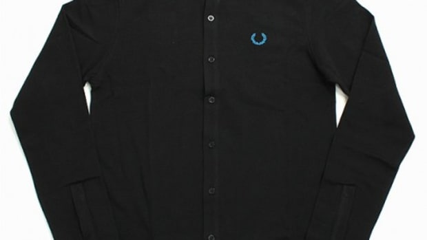 Raf Simons x FRED PERRY - Long Sleeve Button Down Polo Shirt
