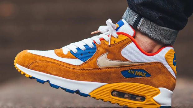 Keep It Spicy With The Nike Air Max 90 Premium Curry