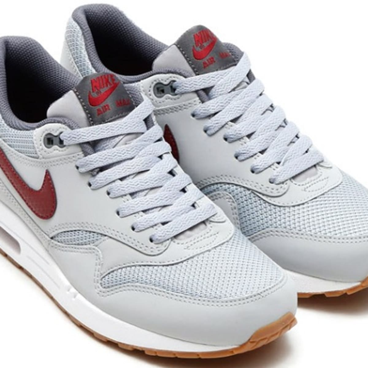 cultura Ataque de nervios colección  Nike Air Max 1 Essential - Wolf Grey/Team Red - Freshness Mag