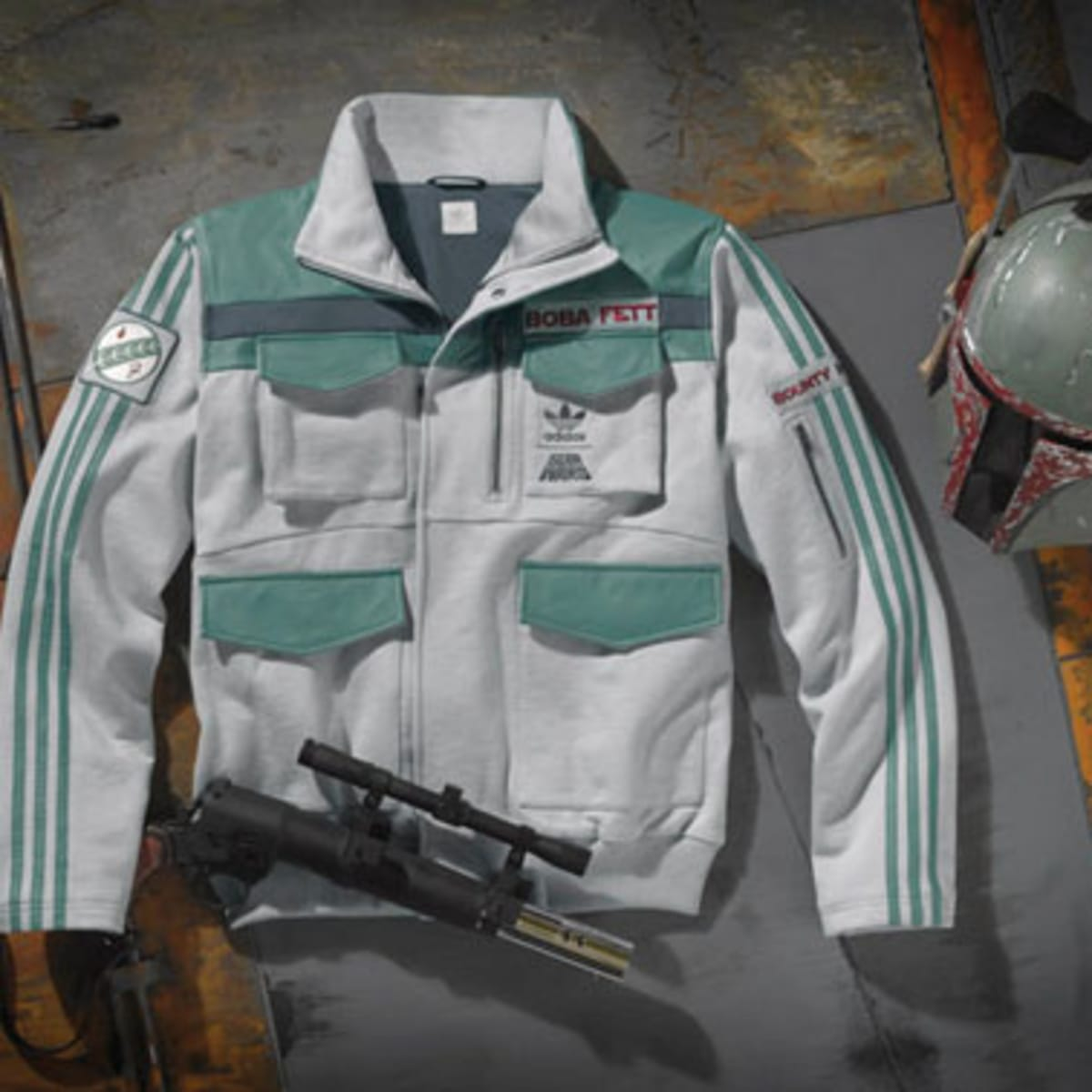 adidas star wars boba fett jacket