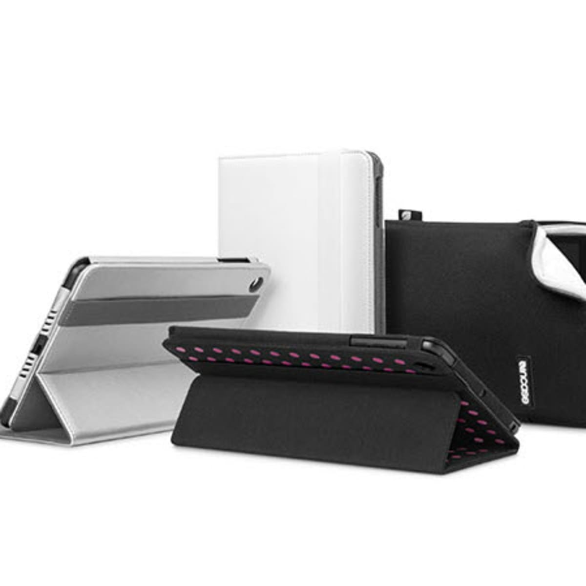 Incase Origami Jacket for iPad mini 2 and 3 - Black/Lime - CL60507 ... | 1200x1200