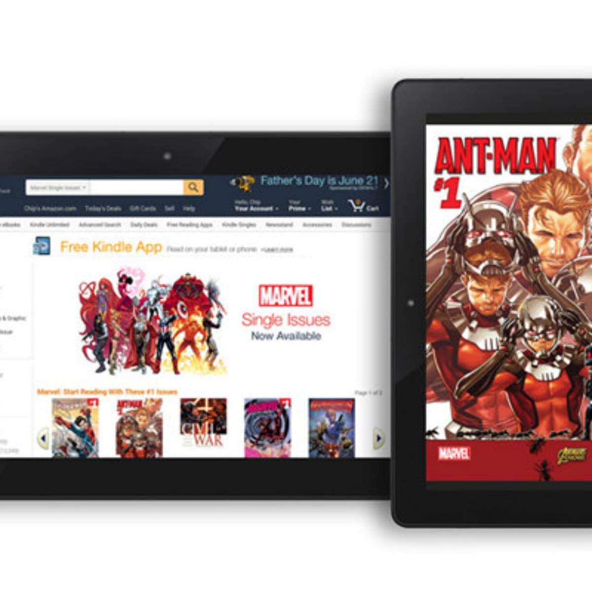 Amazon Brings 12 000 Marvel Comics To The Kindle Store Ietp