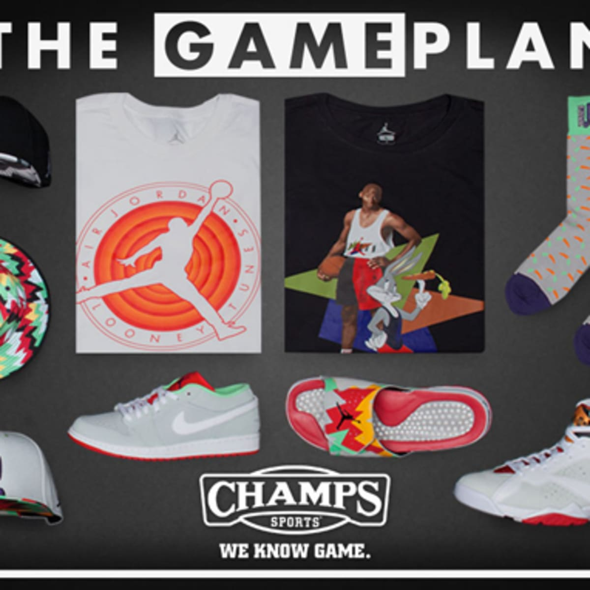 Champs Sports - Jordan Hare Collection