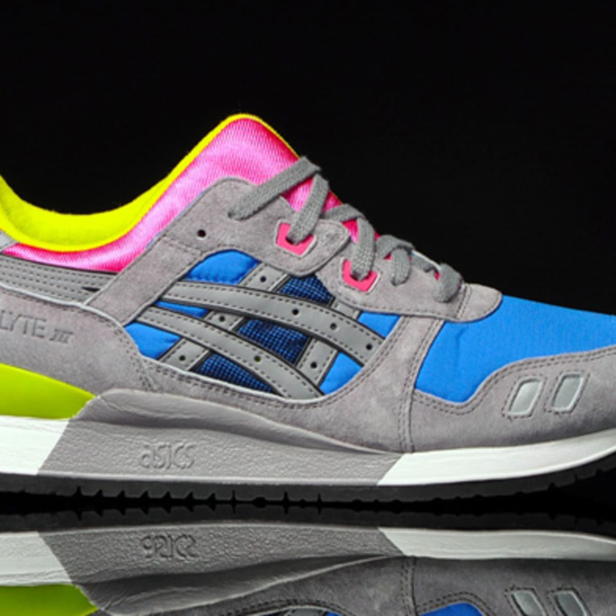 exceso Molestar análisis  ASICS Gel Lyte III - Grey-Royal Blue-Pink | Available - Freshness Mag