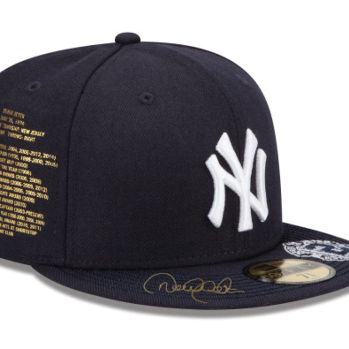 New Era For Atmos Nyc Ny Yankees Derek Jeter Fitted Hat Freshness Mag