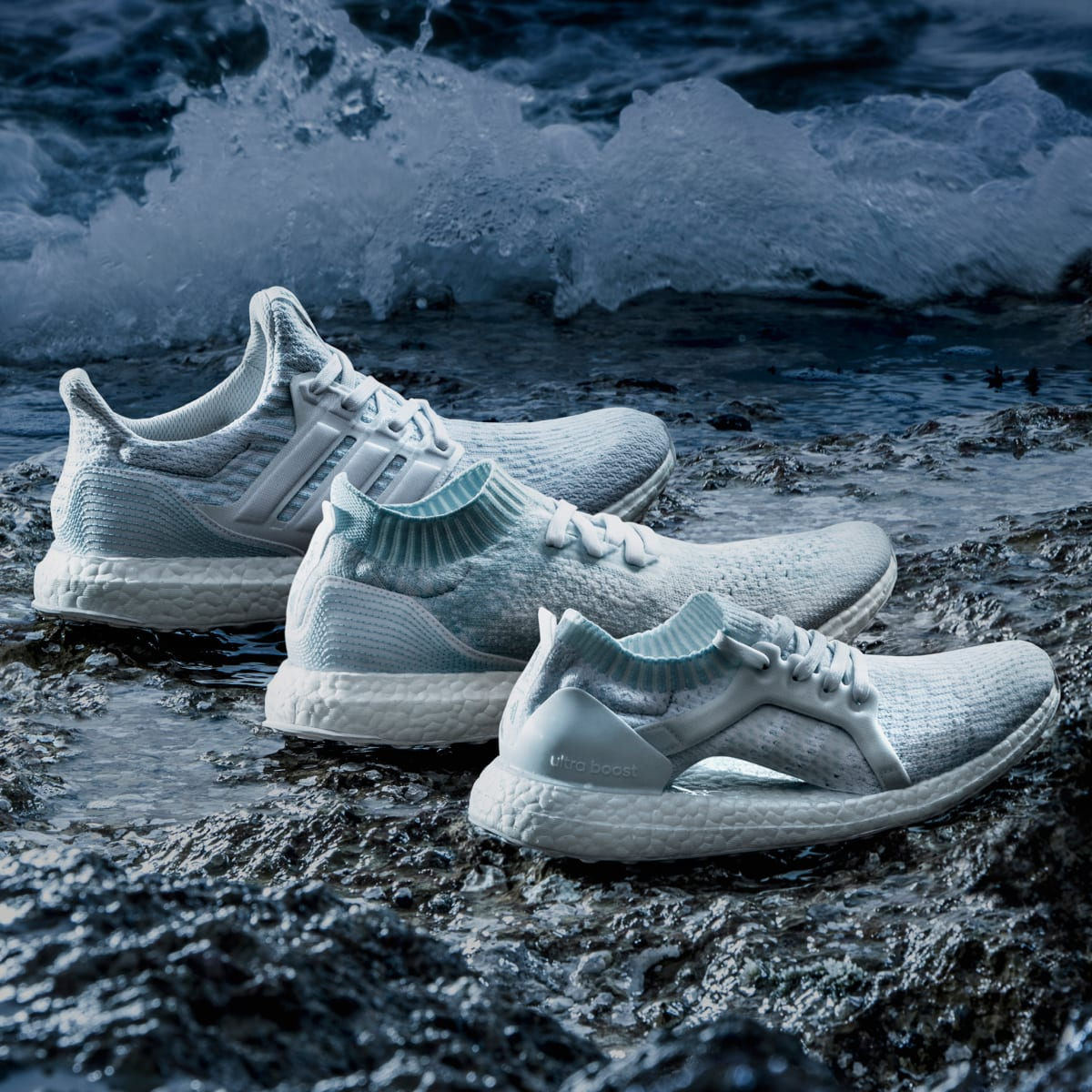 Mezclado abajo borracho  adidas & Parley Reference Coral Bleaching With New White UltraBOOST  Colorways - Ampa