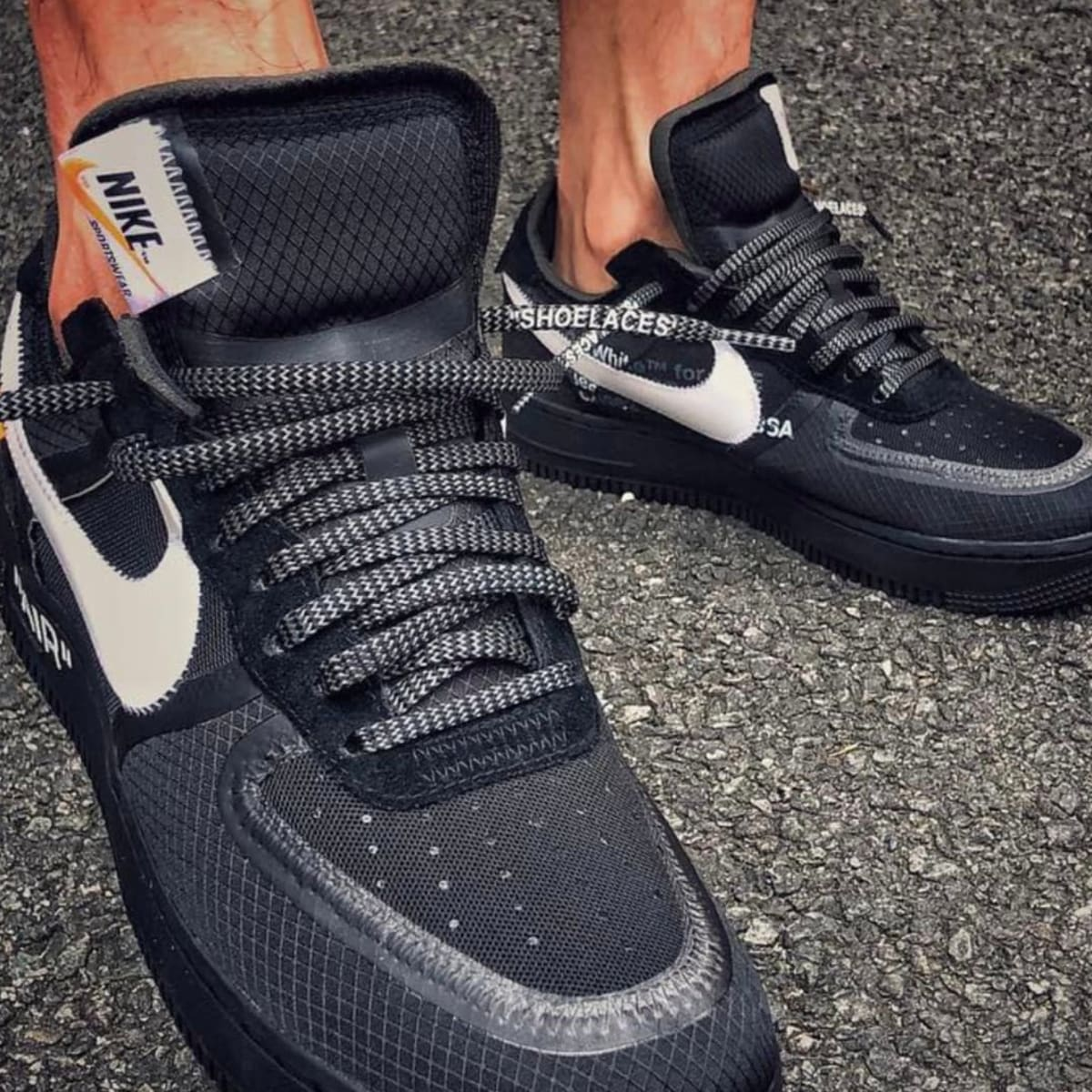 venta caliente barato características sobresalientes zapatos clasicos A First Look at the Upcoming Off-White x Nike Air Force 1 Low in ...