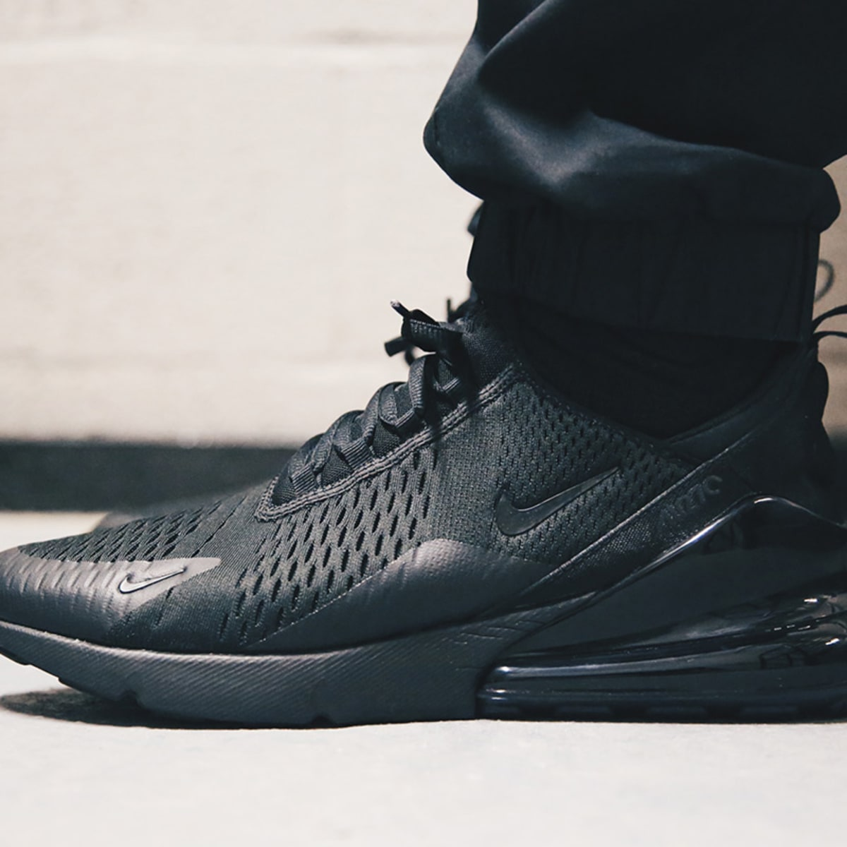 Perceptivo ornamento Rocío  The Nike Air Max 270 Is Set to Debut in a Triple-Black Colorway - Freshness  Mag