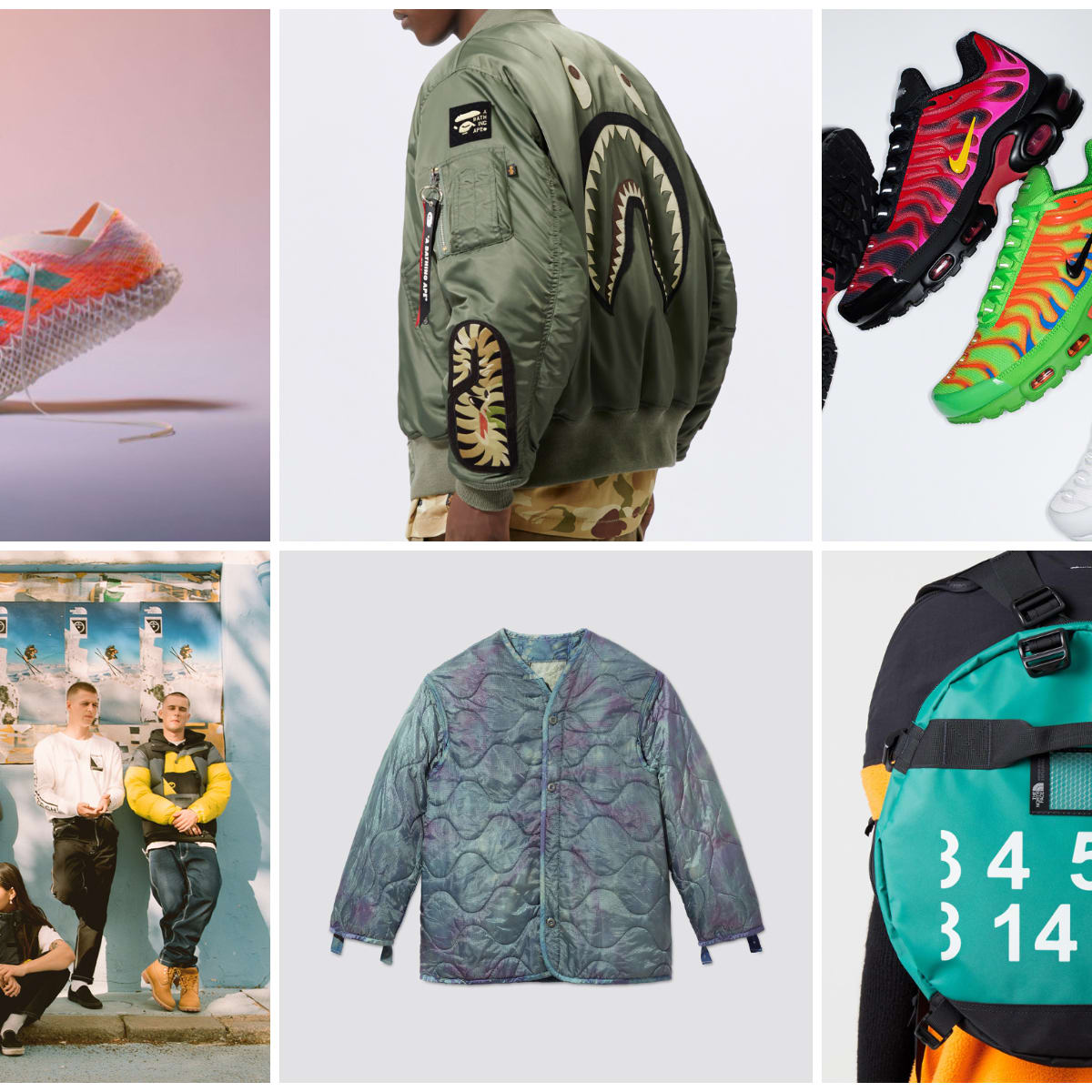 Monday Briefing The North Face X Mm6 Supreme X Nike Air Max Plus Skinny Dunk Sneaker Nike Floral Backpack Adidas Futurecraft Sprung And More Emap