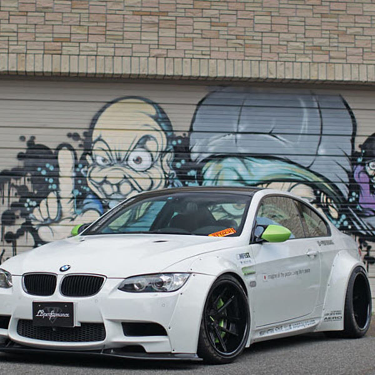 Bmw M3 Modified By Liberty Walk Freshness Mag