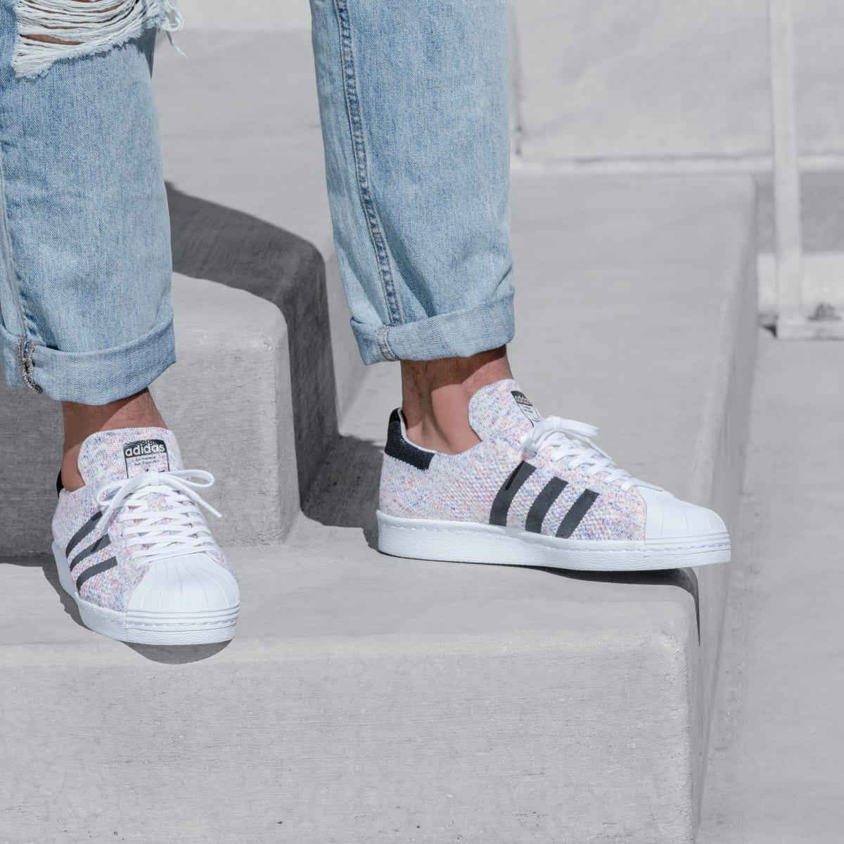 adidas Presents the Superstar 80s Primeknit Multi-Color Pack ...