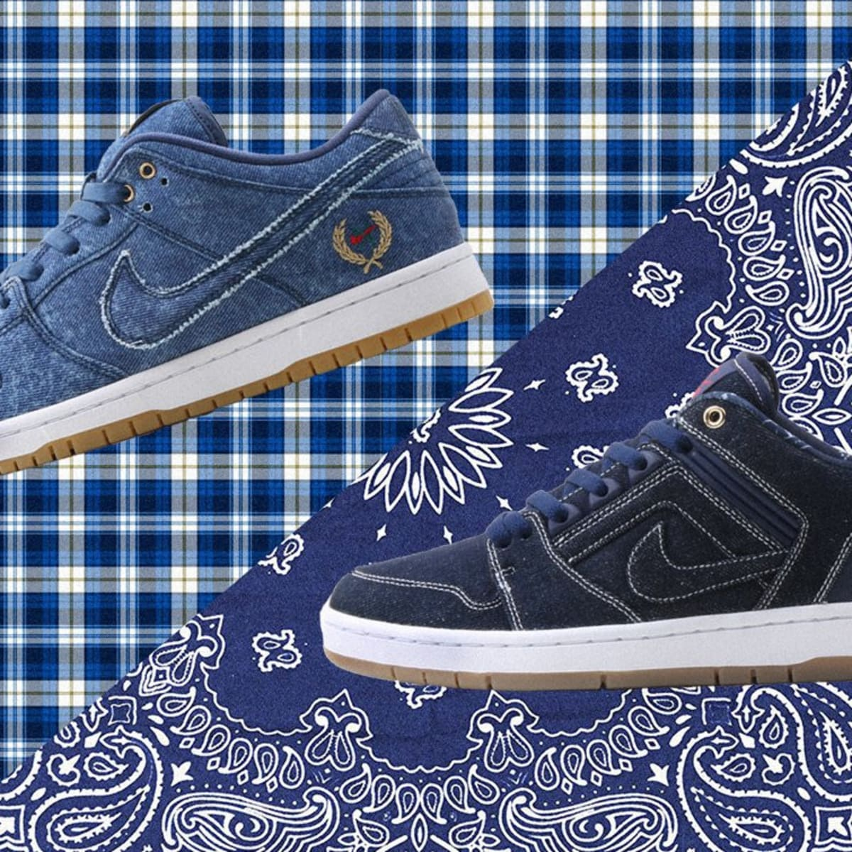 Nike SB's Denim Pack Is Hitting Select Retailers Now - Freshness Mag
