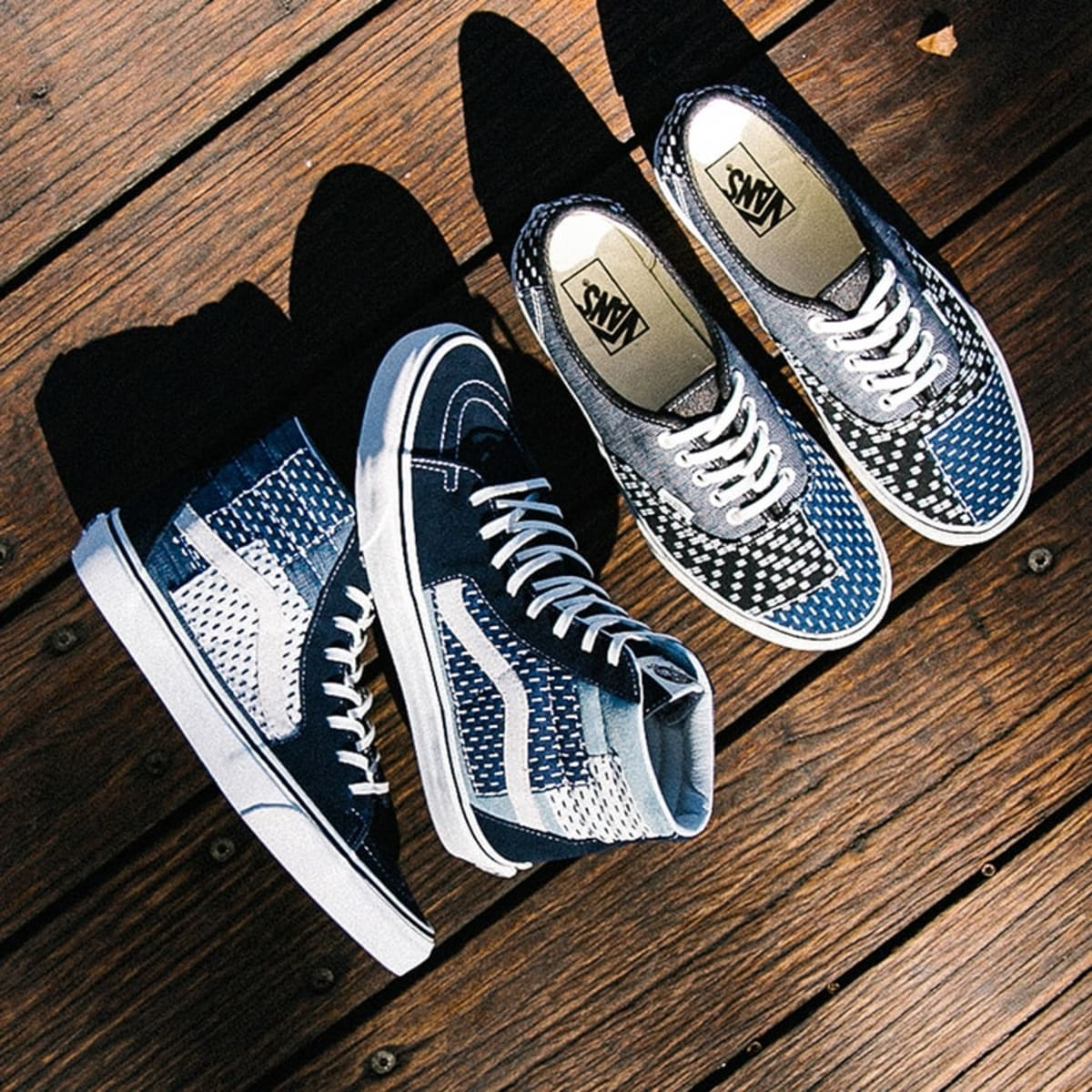 Vans' New Patchwork Pack Is Inspired by the Art of Japanese Boro ...