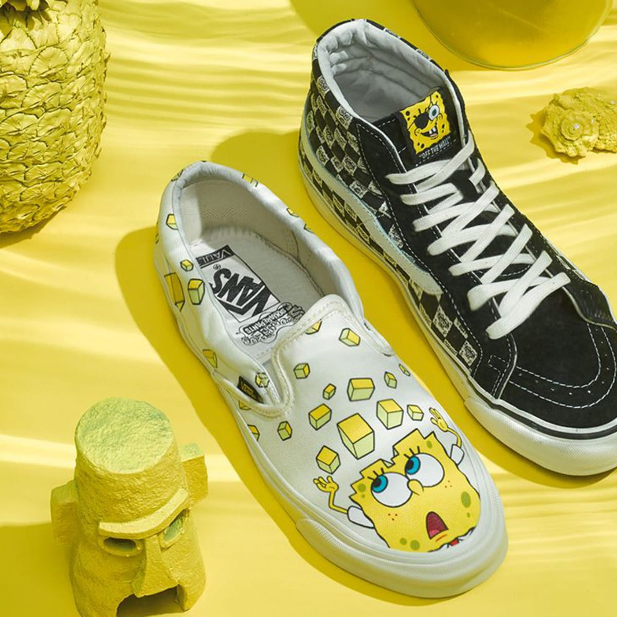 Vans and Nickelodeon Join Forces on a SpongeBob SquarePants ...