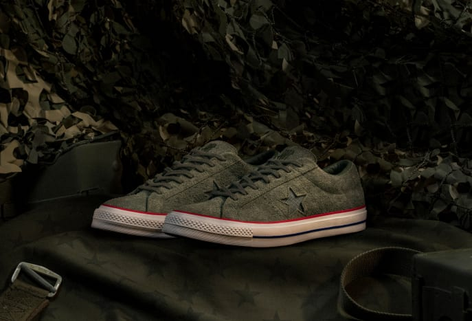 Undefeated x Converse One Star