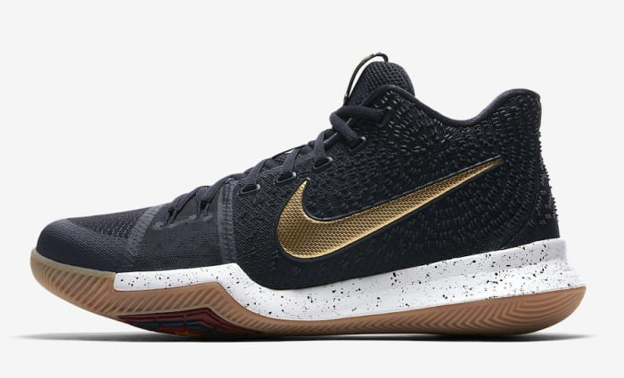 Nike Kyrie 3 Black/Metallic Gold