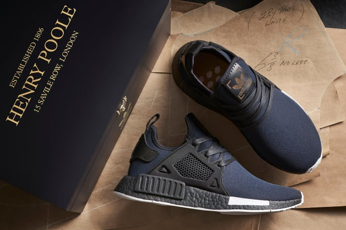 size? x Henry Poole x adidas Originals NMD XR1