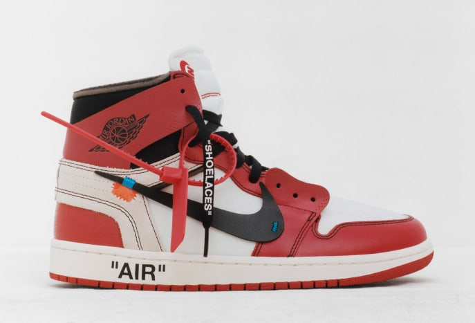 Virgil Abloh x The Air Jordan 1