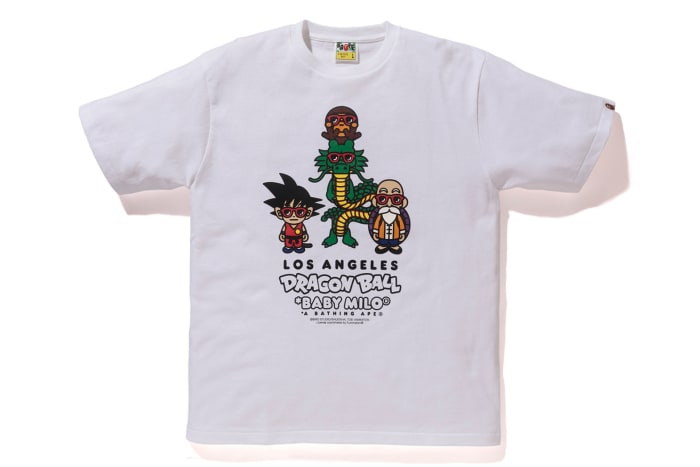 BAPE x Dragon Ball T-Shirt Collection